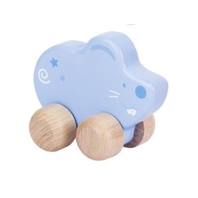 Petite souris bleue à tirer GOKI