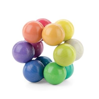 Art Ball Playable Art - Puzzle Artistique en bois 12 boules Pastel