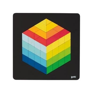 Puzzle 3D en bois GOKI - 46 pièces