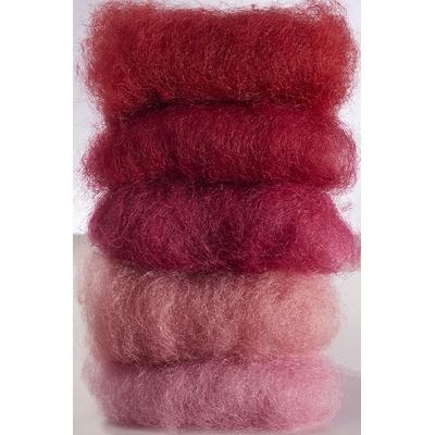 Laine féerique Rouge - teinture végétale - 50gr