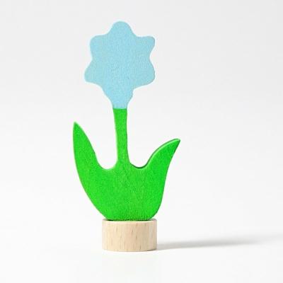 Figurine en bois Fleur bleue Grimm's