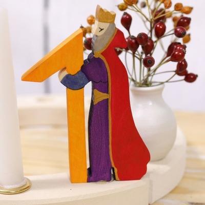 Figurine en bois Roi 1 Grimm's