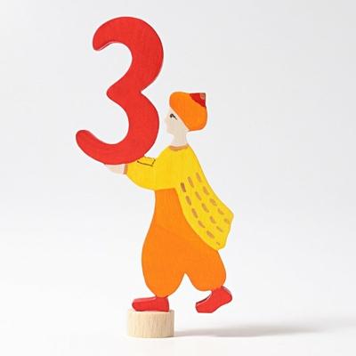 Figurine en bois personnage féerique 3 Grimm's
