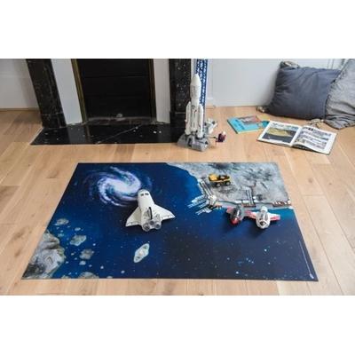 Tapis de jeu Carpeto l'Odyssée Spatiale 120 x 90 cm