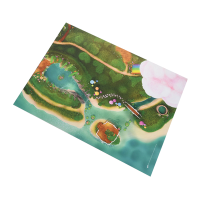 Tapis de jeu Carpeto Lagon féérique 120 X 90 cm