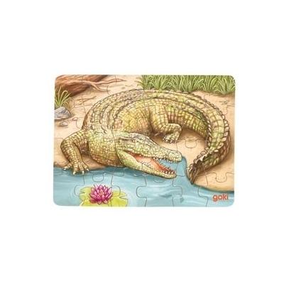 Mini-puzzle Crocodile GOKI