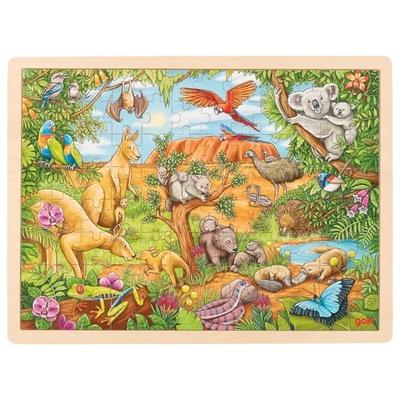 Puzzle animaux d'Australie 96 pièces GOKI