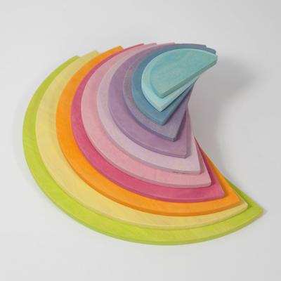 Demi-cercles Pastel Grimm's - 11 pièces