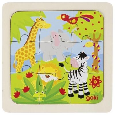 Puzzle en bois jungle GOKI