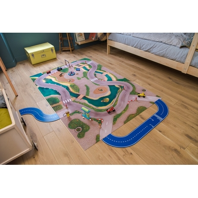Tapis de jeu Carpeto Ville urbaine 120 X 90 cm