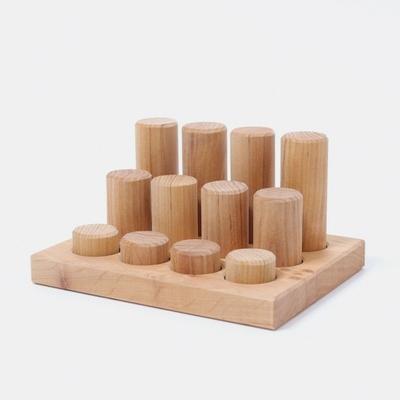 Tableau de tri et cylindres de construction Naturel Grimm's