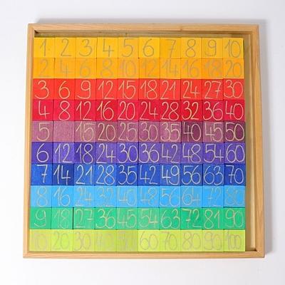 Calculer avec les couleurs - 200 pièces GRIMM's