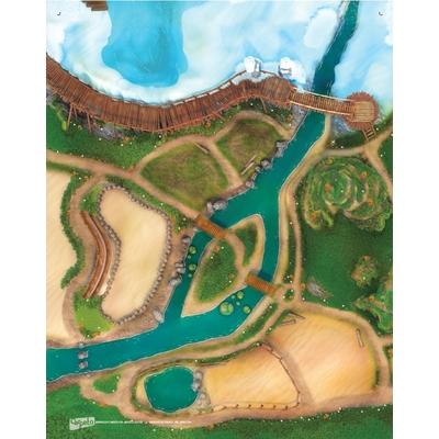 Tapis de jeu Carpeto Le Royaume des Animaux 120 X 90 cm