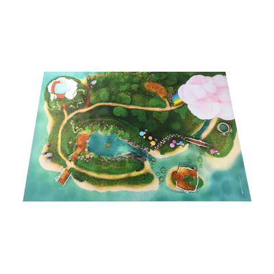 Grand Tapis de jeu Carpeto Lagon féerique 120 x 180cm