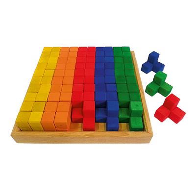Blocs de construction angle - 50 pièces Bauspiel