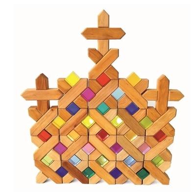 Bauspiel Blocs de construction en X - 45 pièces