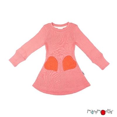 ManyMonths Robe poches coeur en laine - Coloris 2020