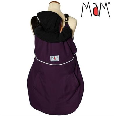 MaM Deluxe Flex Couverture de portage réversible Grape-Black