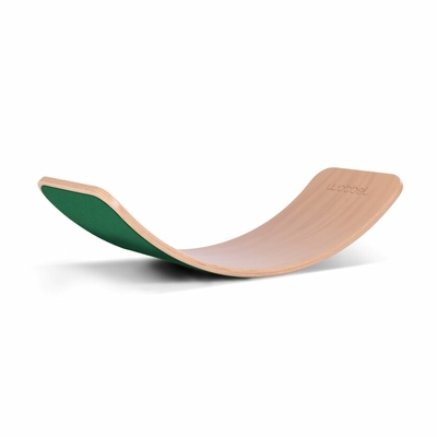 Wobbel Planche d'équilibre Originale Feuillage Vert