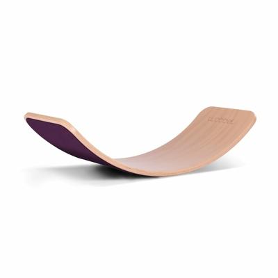 Wobbel Planche d'équilibre Originale Aubergine