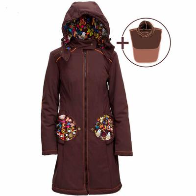 Liliputi Mamacoat manteau de portage et grossesse 4 en 1 Folk Tale