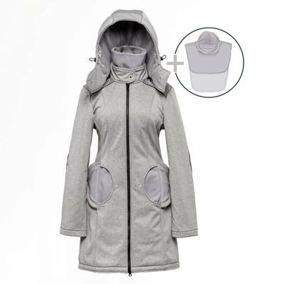 Liliputi Mamacoat manteau de portage et grossesse 4 en 1 Shark