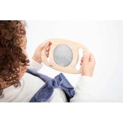 Miroir Paillettes argentées - Tickit