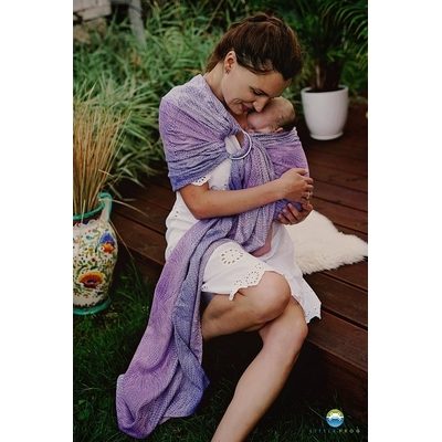 Little Frog RingSling Lilac Wildness