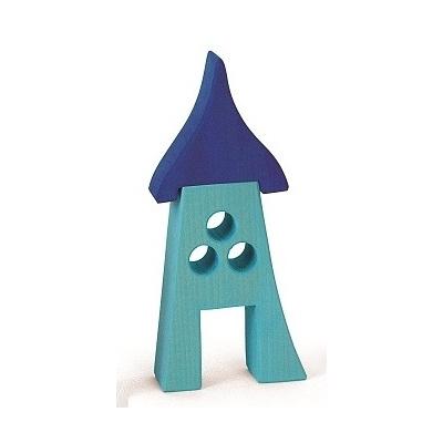 Maison de lutins bleue - Bauspiel