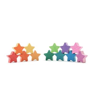 12 étoiles arc-en-ciel Ocamora