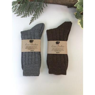 Chaussettes en laine Andrea - Lana Bambini