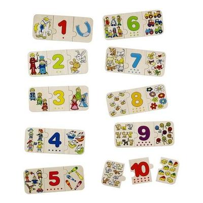 Puzzle Chiffres et Images GOKI
