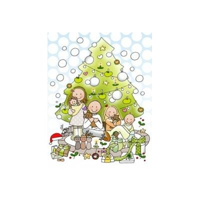 Carte postale Noël Portage