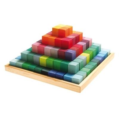 Jeu de construction Pyramide GRIMMS 100 pièces