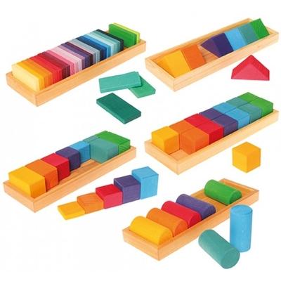 Construction formes et couleurs, Lot 1 GRIMM's