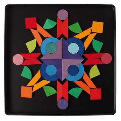 Puzzle Magnétique Triangle, carré, cercle GRIMM's