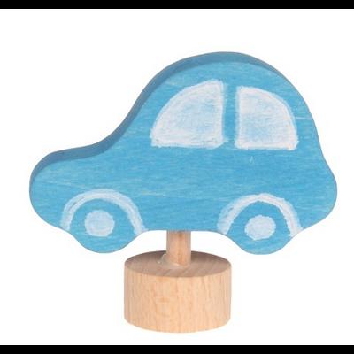 Figurine en bois Voiture bleue GRIMM's