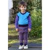 pantalon-Laine-violet-Cosilana