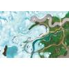 Tapis de jeu Carpeto Etoile des neiges 120 X 180 cm