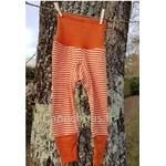 Pantalon-rayé-orange-Cosilana