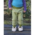 pantalon-Laine-vert-Cosilana