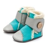 Babyboots-Snowflake-Turquoise