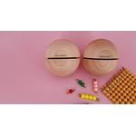 grandes boules sonores pyramide perles Montessori