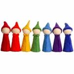 Gnomes Rainbow - set de 7 Papoose 2