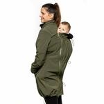 Liliputi Mamacoat manteau de portage et grossesse 4 en 1 Forest Green 5
