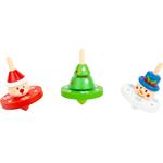 Toupie en bois Noël - Small Foot
