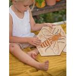 Puzzle en bois Anatomie de labeille Stuka Puka 3
