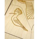 Puzzle en bois A la découverte des oiseaux Stuka Puka 4