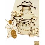 Puzzle multicouches le Cycle de vie des insectes Stuka Puka 2