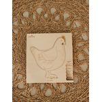 Puzzle multicouches le Cycle de vie de la poule Stuka Puka 6